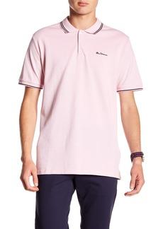 Ben Sherman Short Sleeve Knit Polo Shirt