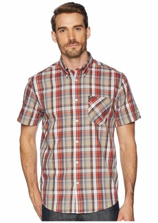 Ben Sherman Short Sleeve Madras Plaid Shirt