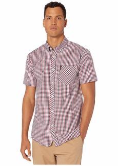 Ben Sherman Short Sleeve Multi Mini Check Shirt