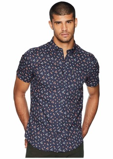 Ben Sherman Short Sleeve Palm Tree Print Shirt