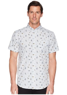 Ben Sherman Short Sleeve Park Life Print Shirt