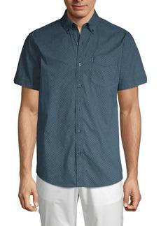 Ben Sherman Short-Sleeve Printed Shirt