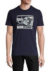 Ben Sherman Spliced Music Graphic T-Shirt