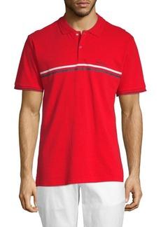 Ben Sherman Sport Chest Stripe Cotton Polo