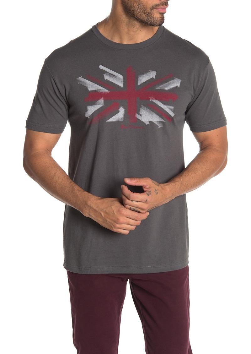 Ben Sherman Spray Arrows Graphic T-Shirt