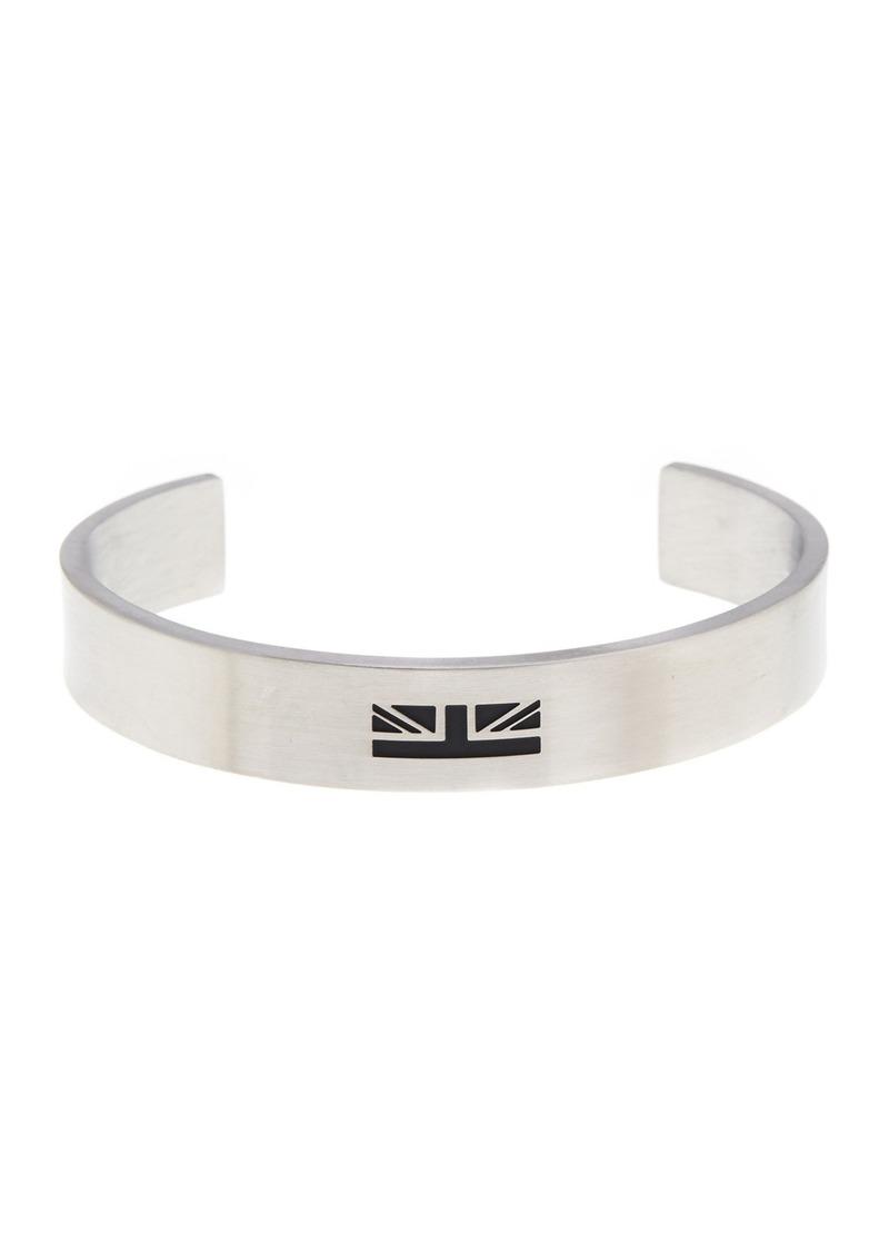 Ben Sherman Stainless Steel Enamel Cuff Bracelet