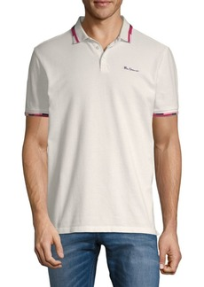 Ben Sherman Start Stop Tipping Cotton Polo