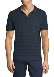 Ben Sherman Stripe Cotton Polo