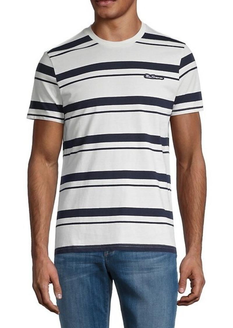 Ben Sherman Stripe Logo T-Shirt