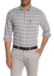 Ben Sherman Stripe Print Classic Fit Shirt