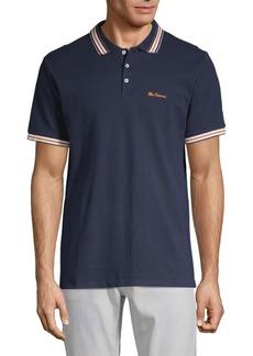 Ben Sherman Striped Cotton Polo