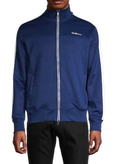 Ben Sherman Striped-Sleeve Track Jacket