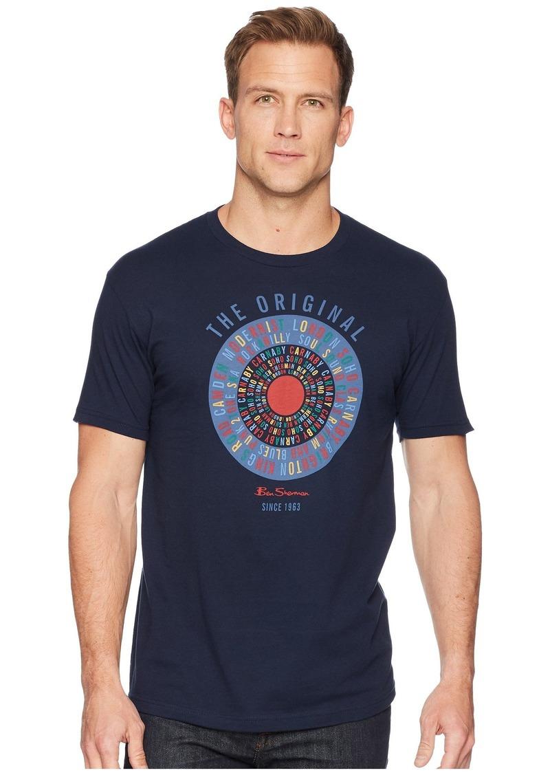57db69281 Ben Sherman Text Target Screen Tee   Casual Shirts