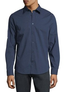Ben Sherman Textured Spot Sport Shirt