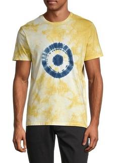 Ben Sherman Tie-Dye Target T-Shirt