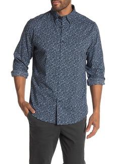 Ben Sherman Tonal Floral Print Classic Fit Shirt