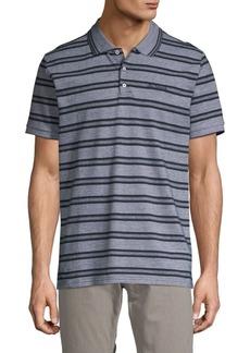 Ben Sherman Tonic Striped Cotton Polo