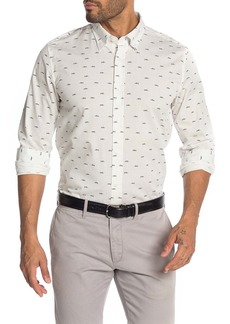 Ben Sherman Trumpet Print Union Fit Shirt