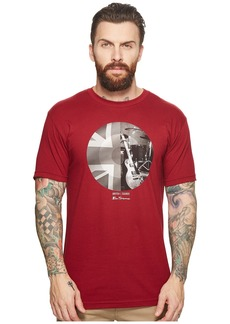 Ben Sherman Union Jack Circle Screen Tee