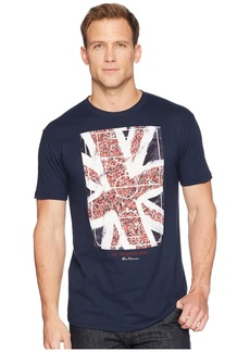 Ben Sherman Union Jack Fans Screen Tee