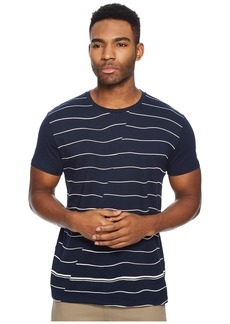 Ben Sherman Warp Breton Stripe Fashion Crew