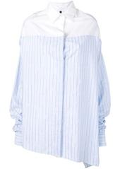 Ben Taverniti Unravel Project asymmetrical oversized shirt