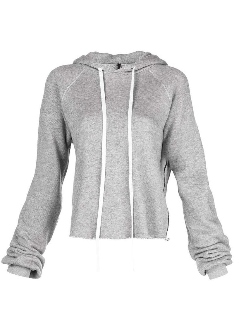 Ben Taverniti Unravel Project drawstring hooded sweater