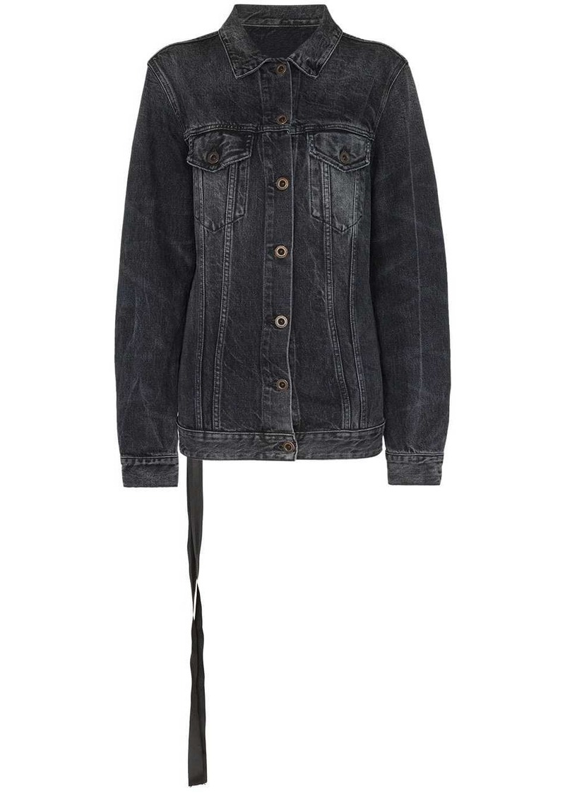 Ben Taverniti Unravel Project stonewash denim jacket