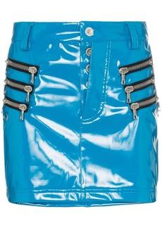 Ben Taverniti Unravel Project zip-pocket mini skirt
