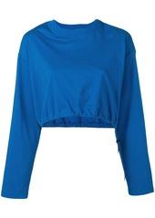 Ben Taverniti Unravel Project cropped sweatshirt