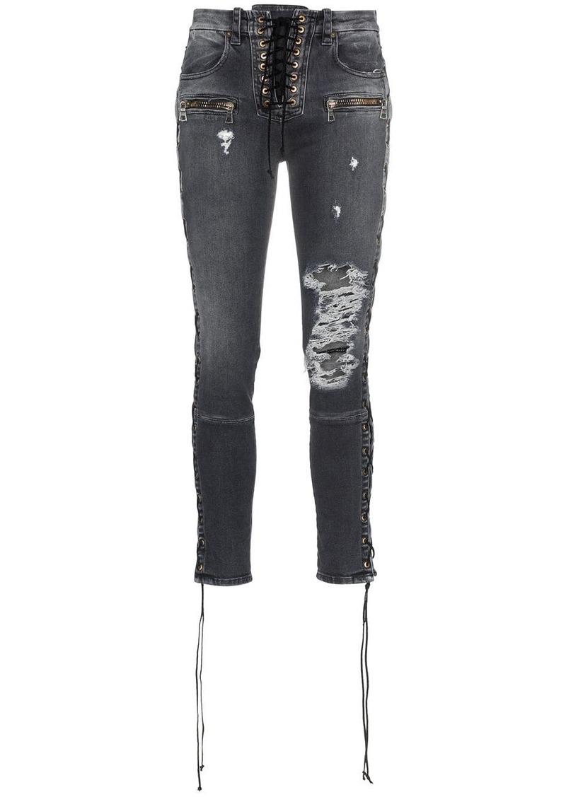 Ben Taverniti Unravel Project Skinny stonewash ripped skinny jeans