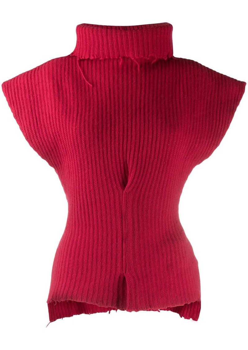 Ben Taverniti Unravel Project distressed sleeveless sweater