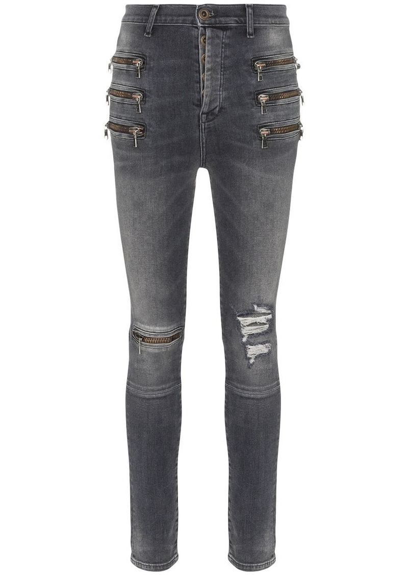 Ben Taverniti Unravel Project high-waisted skinny jeans
