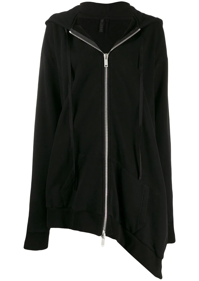 Ben Taverniti Unravel Project asymmetric drape hoodie
