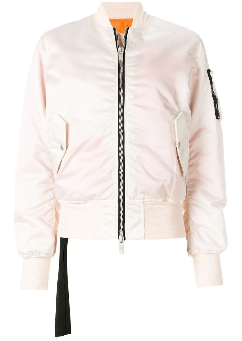 Ben Taverniti Unravel Project basic bomber jacket