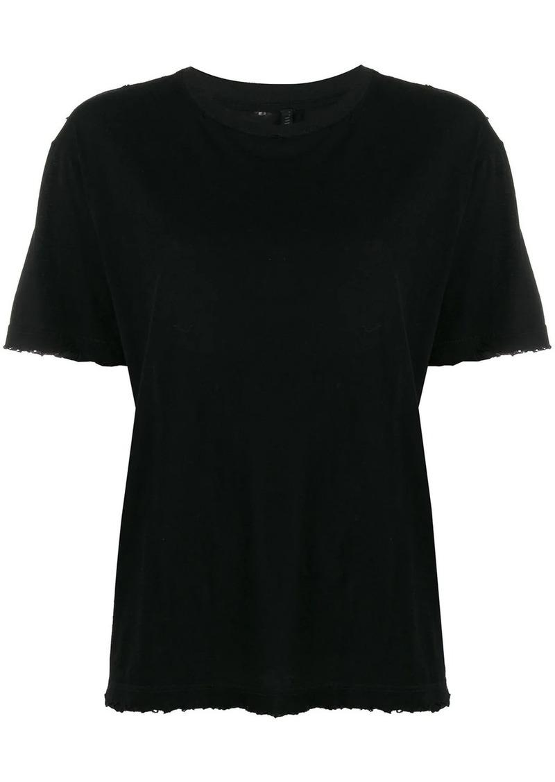 Ben Taverniti Unravel Project basic plain T-shirt