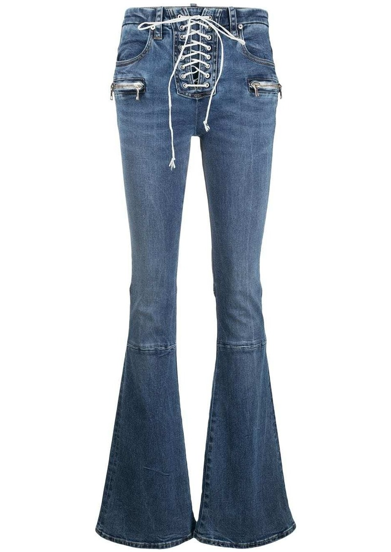 Ben Taverniti Unravel Project boot-cut jeans