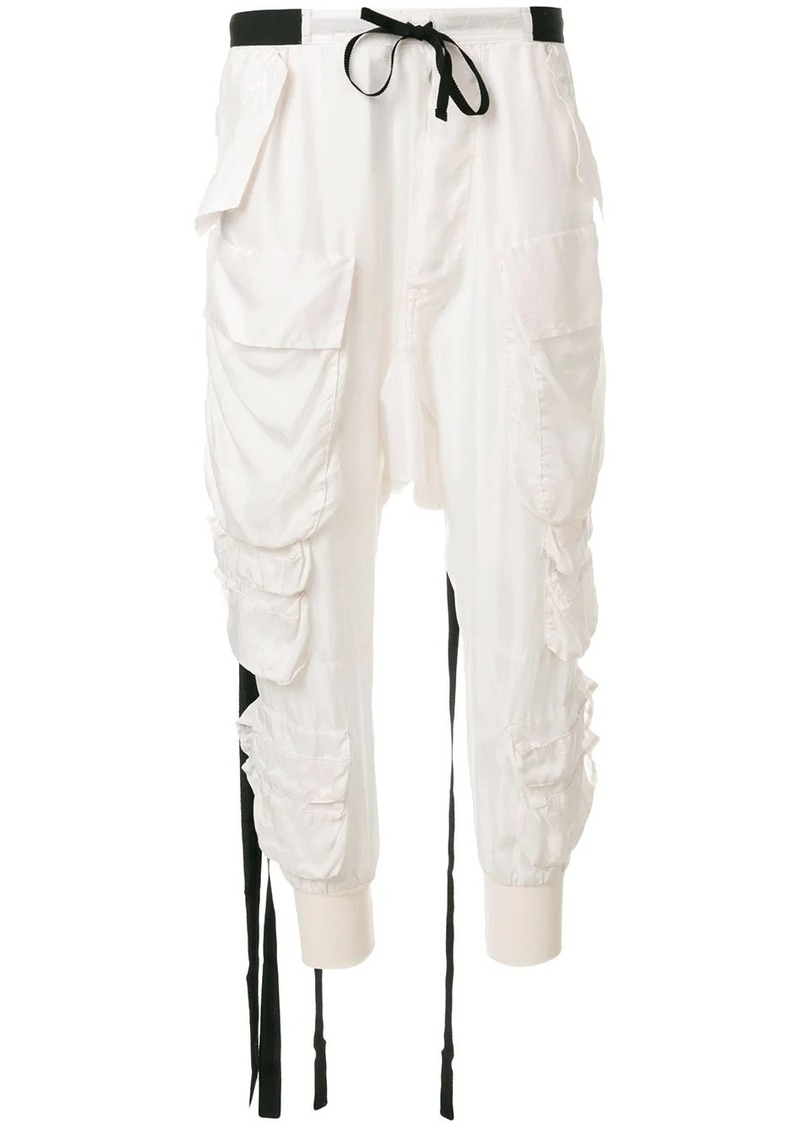 Ben Taverniti Unravel Project cargo track pants