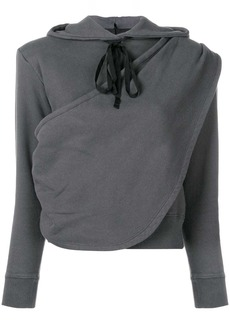 Ben Taverniti Unravel Project draped hoodie