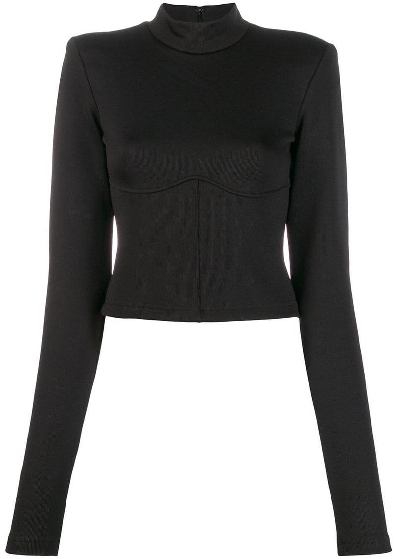 Ben Taverniti Unravel Project fitted sweatshirt