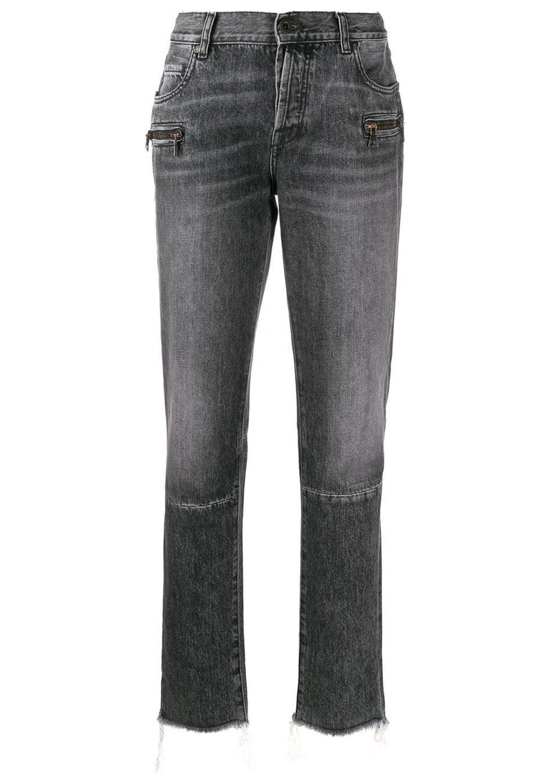 Ben Taverniti Unravel Project straight leg frayed cuff jeans