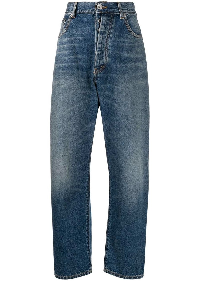 Ben Taverniti Unravel Project high-waisted wide leg jeans