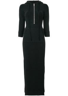 Ben Taverniti Unravel Project hooded dress