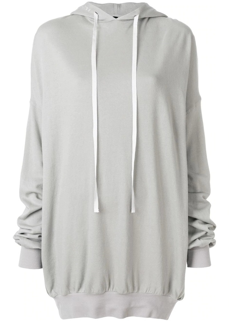 Ben Taverniti Unravel Project hooded knitted top