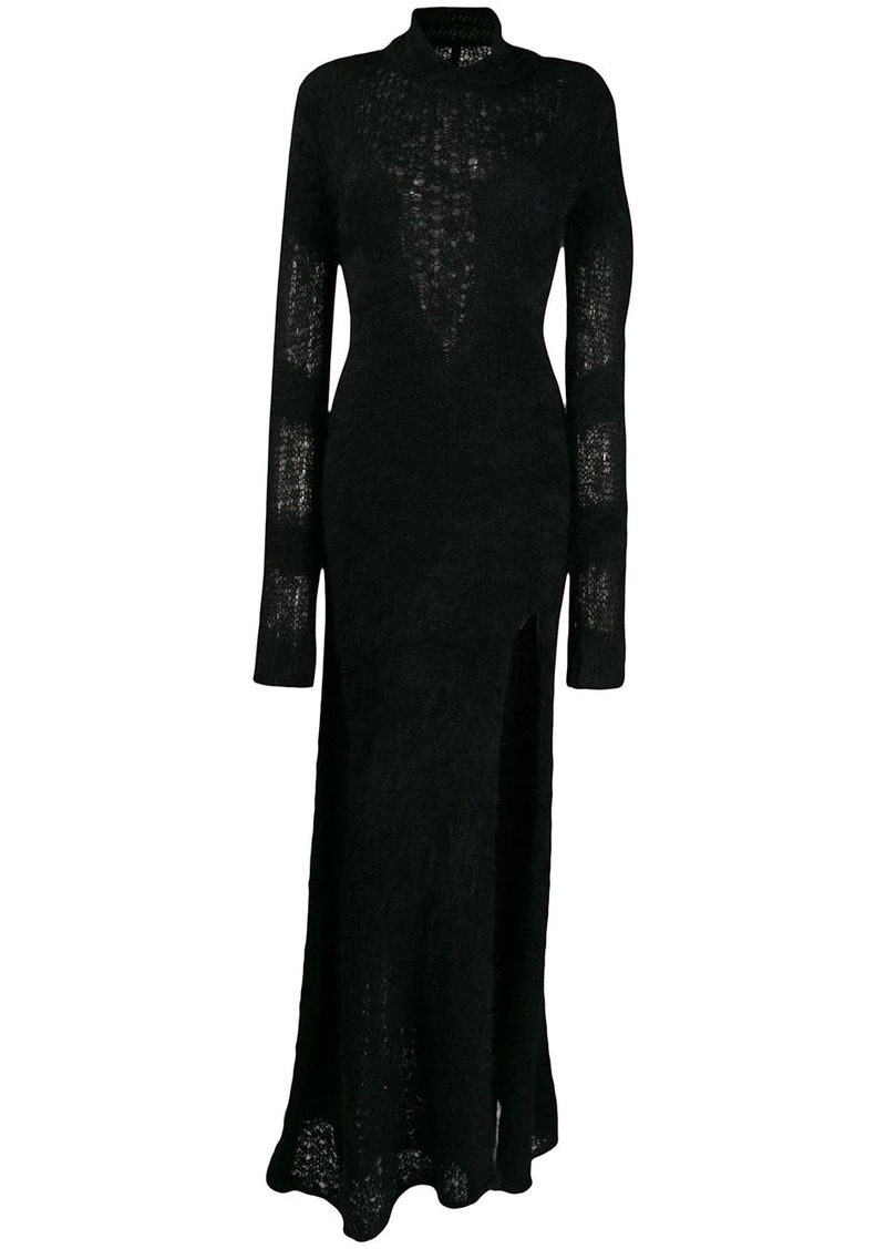 Ben Taverniti Unravel Project knitted long dress