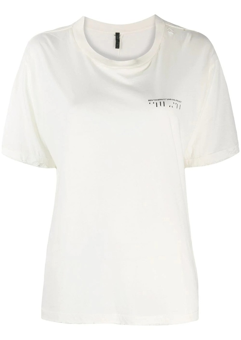 Ben Taverniti Unravel Project logo T-shirt