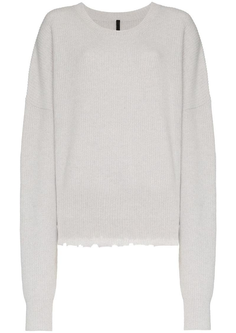 Ben Taverniti Unravel Project long sleeve wool blend sweater