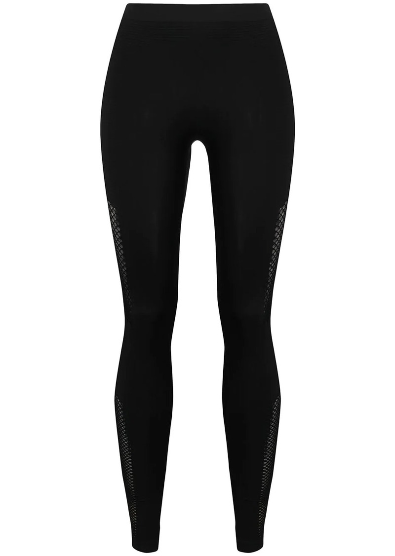 Ben Taverniti Unravel Project mid-rise cut-out leggings