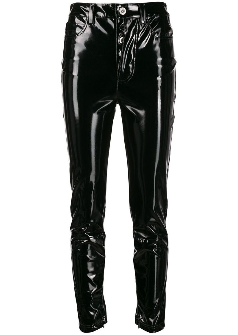 Ben Taverniti Unravel Project shiny-effect skinny trousers
