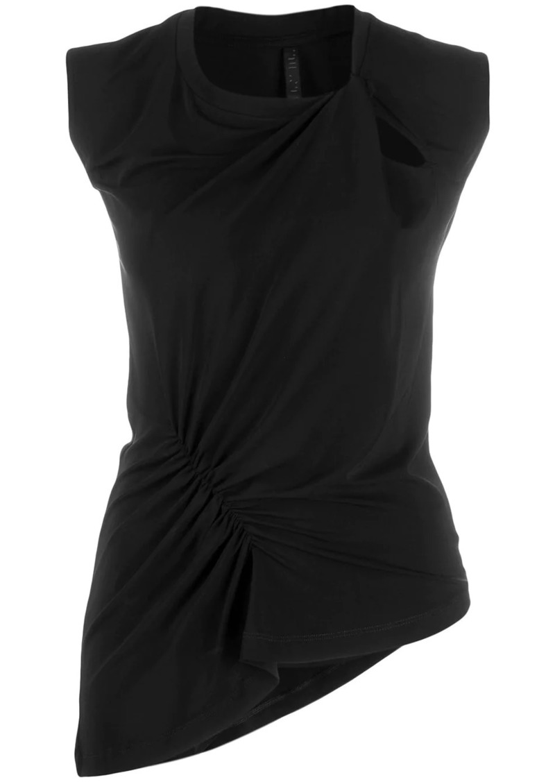 Ben Taverniti Unravel Project slim-fit asymmetric top